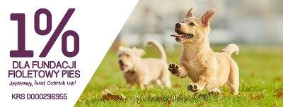 Fundacja Fioletowy Pies - niepozorny 1%