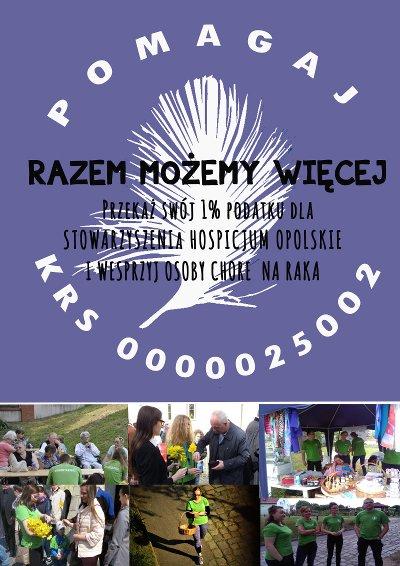 Stowarzyszenie Hospicjum Opolskie - niepozorny 1%